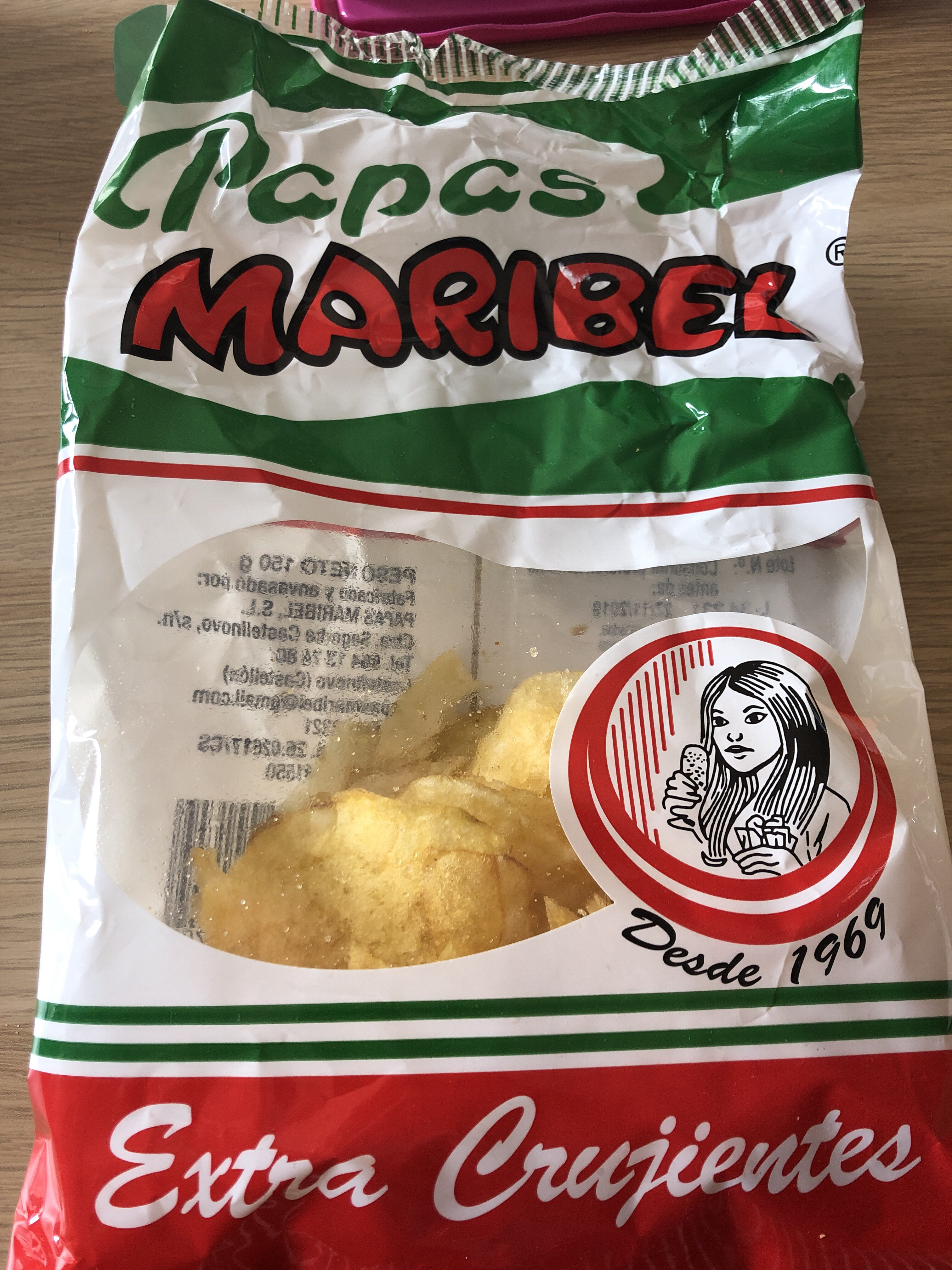 Papas Maribel - Product