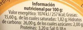 Habas fritas Mini Baby - Nutrition facts - es