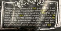Tenders - Ingredients