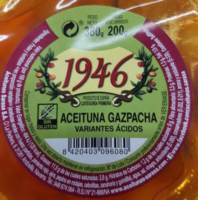 Aceituna gazpacha - Ingredients - es