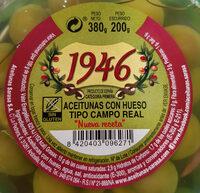 Aceitunas con hueso tipo Campo Real - Ingredientes - es