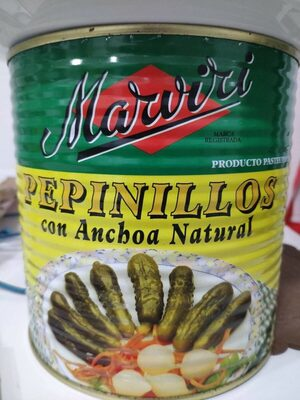 Pepinillos con anchoa natural - Product - es