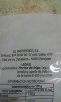 migas el pastorcico - Ingredients