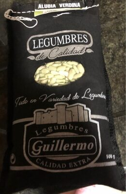 Alubia Verdina Legumbres Guillermo - Producto - es