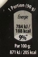 Merlu Blanc Panure Croustillante Star Wars - Informations nutritionnelles