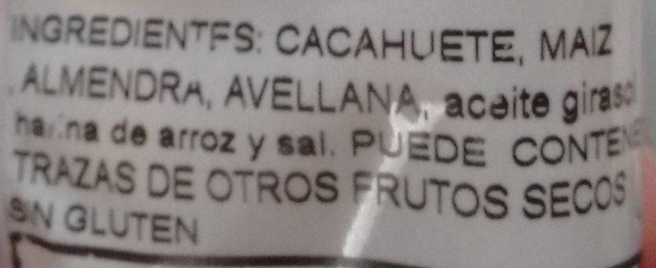 Frutos secos - Ingredientes - es