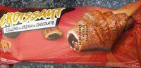 Croissant relleno de chocolate - Produit - es