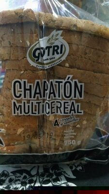 Chapatón multicereal