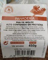 Pan de molde alto contenido en proteina - Producto - es