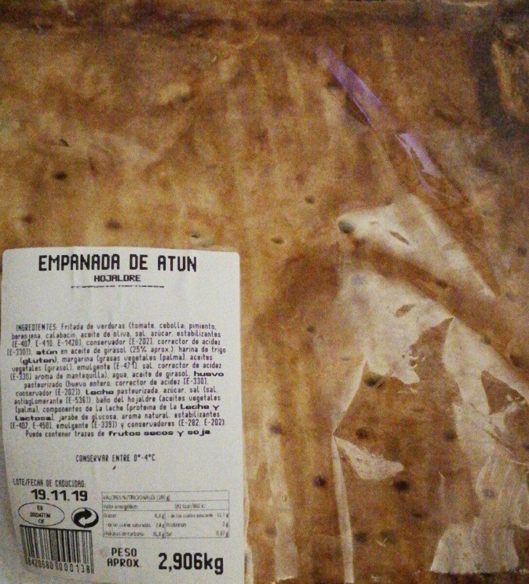 Empanada de atún - Product - es
