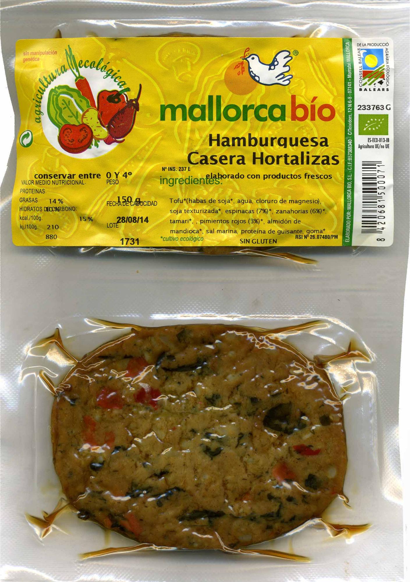Hamburguesas vegetales Hortalizas - Product - es