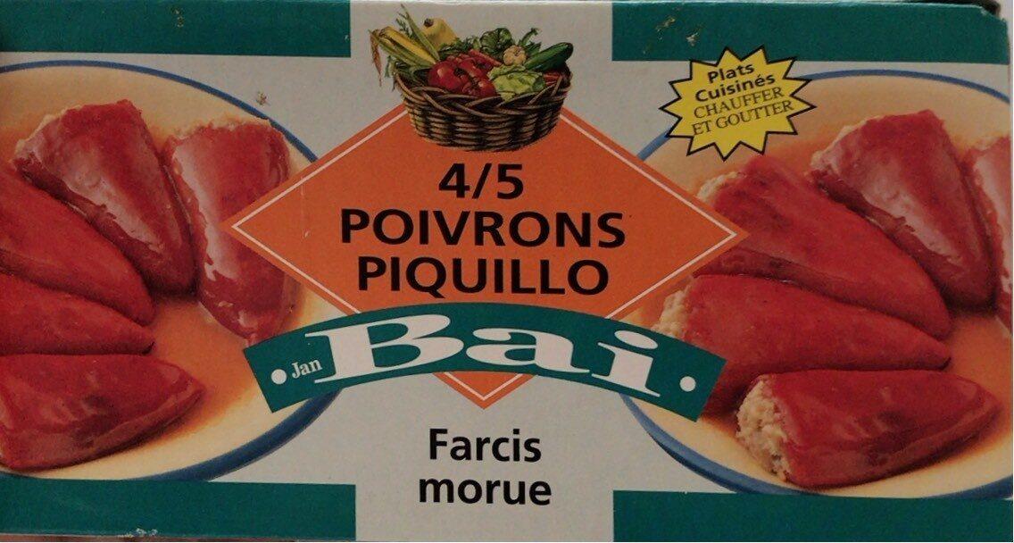 Poivron piquillo jan bai - Producto - fr