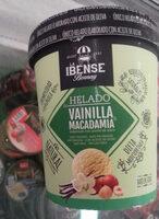 Helado vanilla macadamia - Produit - es