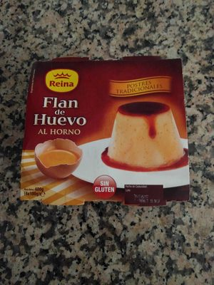 Flan de huevo al horno - Producto