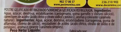 Gelli Sweet cola - Ingredients - fr