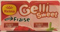 Gelli Sweet saveur Fraise - Produit - fr