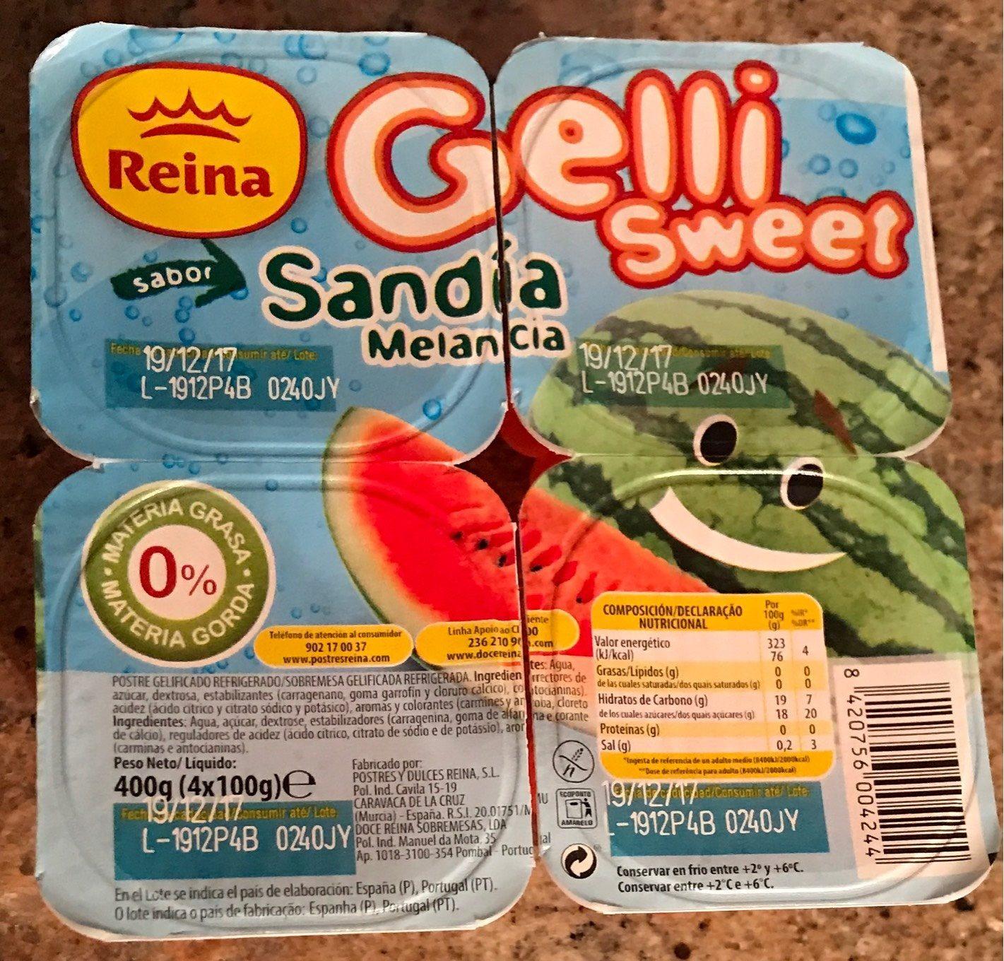 Gelli Sweet - Product