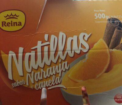 Natilla sabor naranja y canela