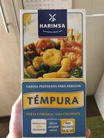 Témpura - Producte