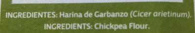 Harina de garbanzo - Ingrédients - es