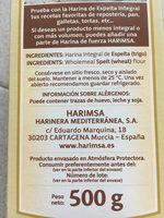 Harina integral de espelta - Product