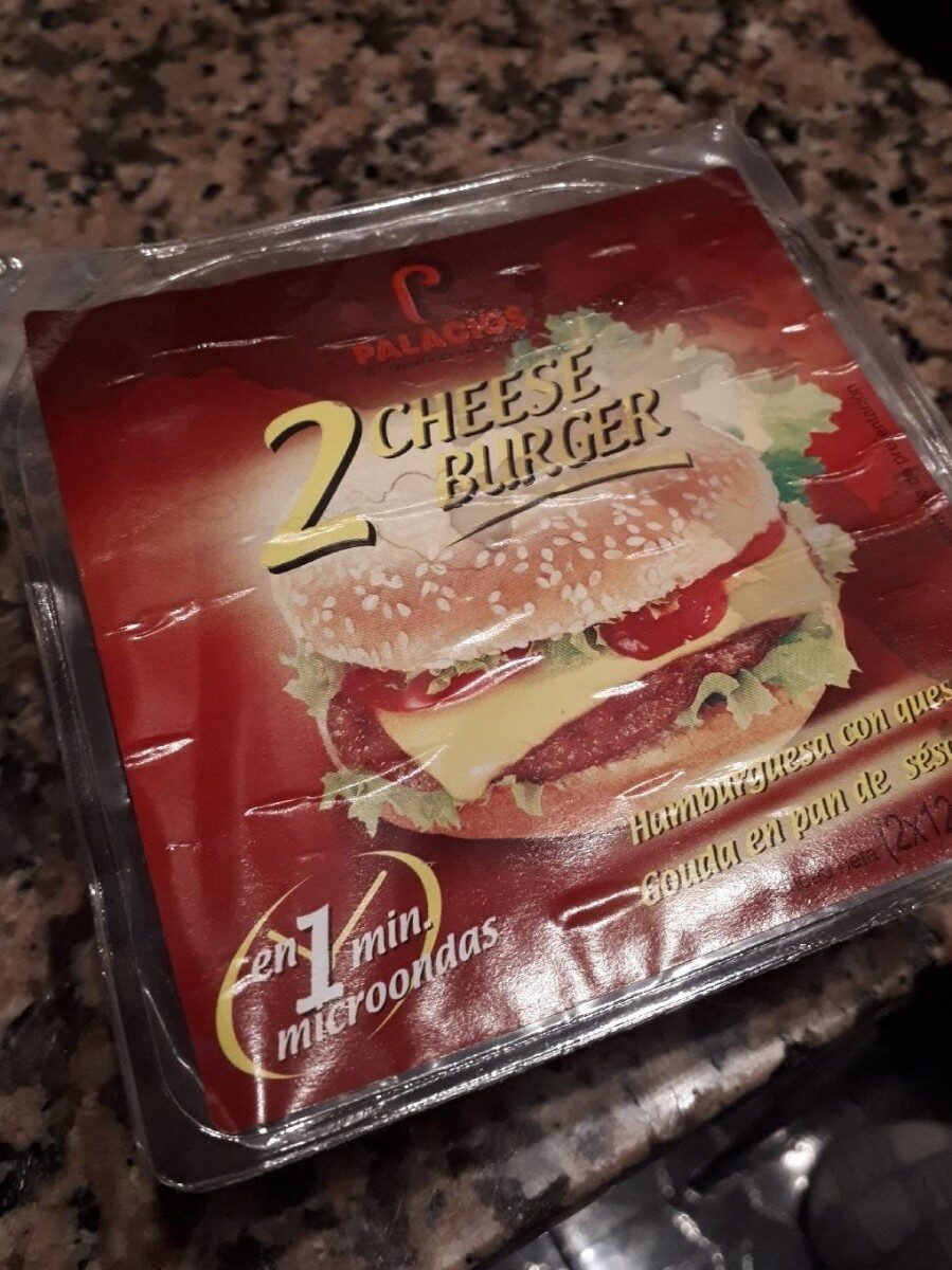 Cheese Burguer - Producte