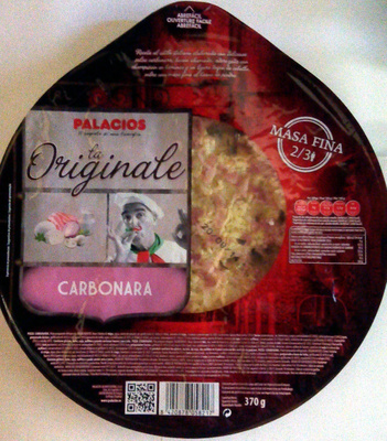 La Originale Carbonara - Product - fr