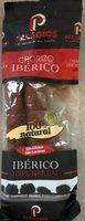 Chorizo iberico - Product - fr