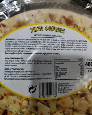 Pizza 4 quesos - Prodotto - es