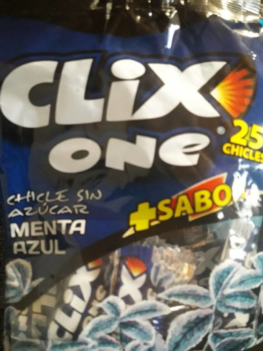 Clix One - Menta Azul - Nutrition facts