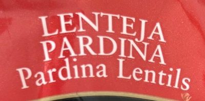 Lenteja Pardina - Ingredientes