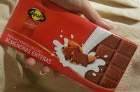 Chocolate extrafino con almendras - Producto