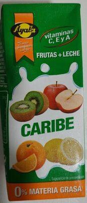 Frutas + leche Caribe