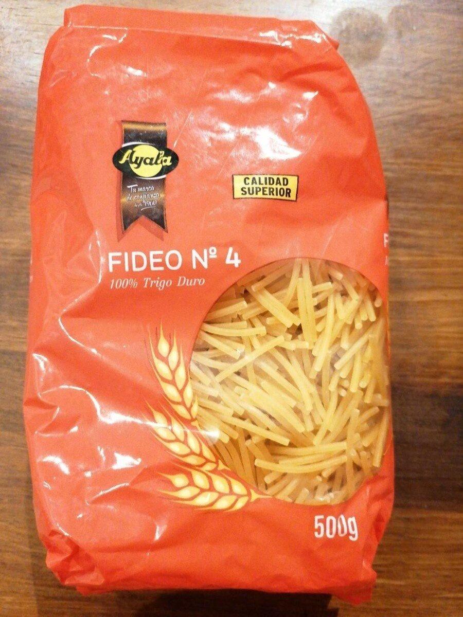 Fideo n°4 - Producte - es