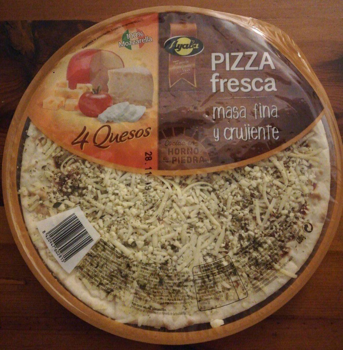Pizza fresca 4 quesos - Producte