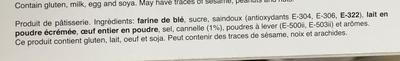 Biscuits de canela - Ingrediënten