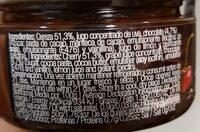 Cereza con chocolate - Informació nutricional - es
