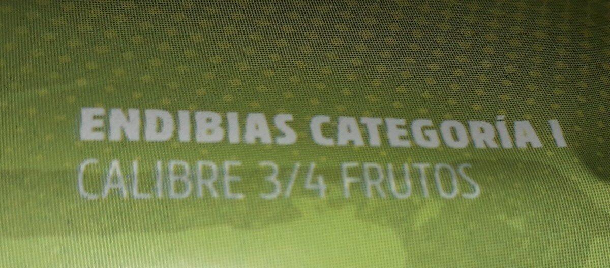 Endibias - Ingredientes - es