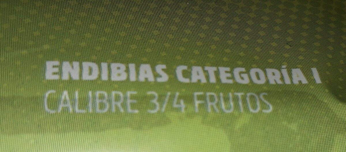 Endibias - Ingredientes