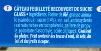 Nevaditos Bollitos hojaldrados - Ingredientes - fr
