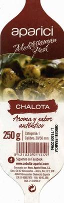 Echalotes - Información nutricional - es