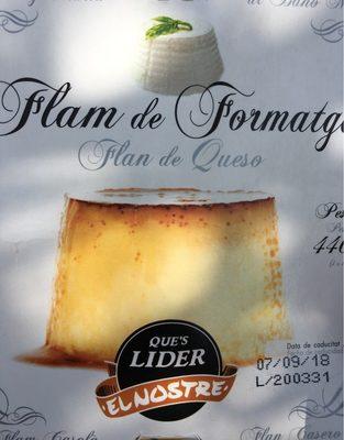 Flam de formatge - Producto