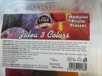 Jalea 3 colors - Ingredients - es