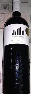Señorío de Benidorm,  Orgánica Wine. ROBLE - Product - fr