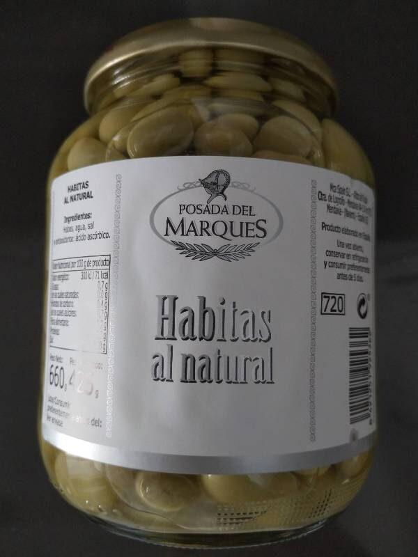 Habitas al natural - Produit