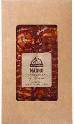 Chorizo magno natural lonchas sin gluten sin lactosa - Produit - fr