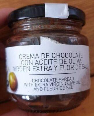 Crema de chocolate con aove y flor de sal - Product
