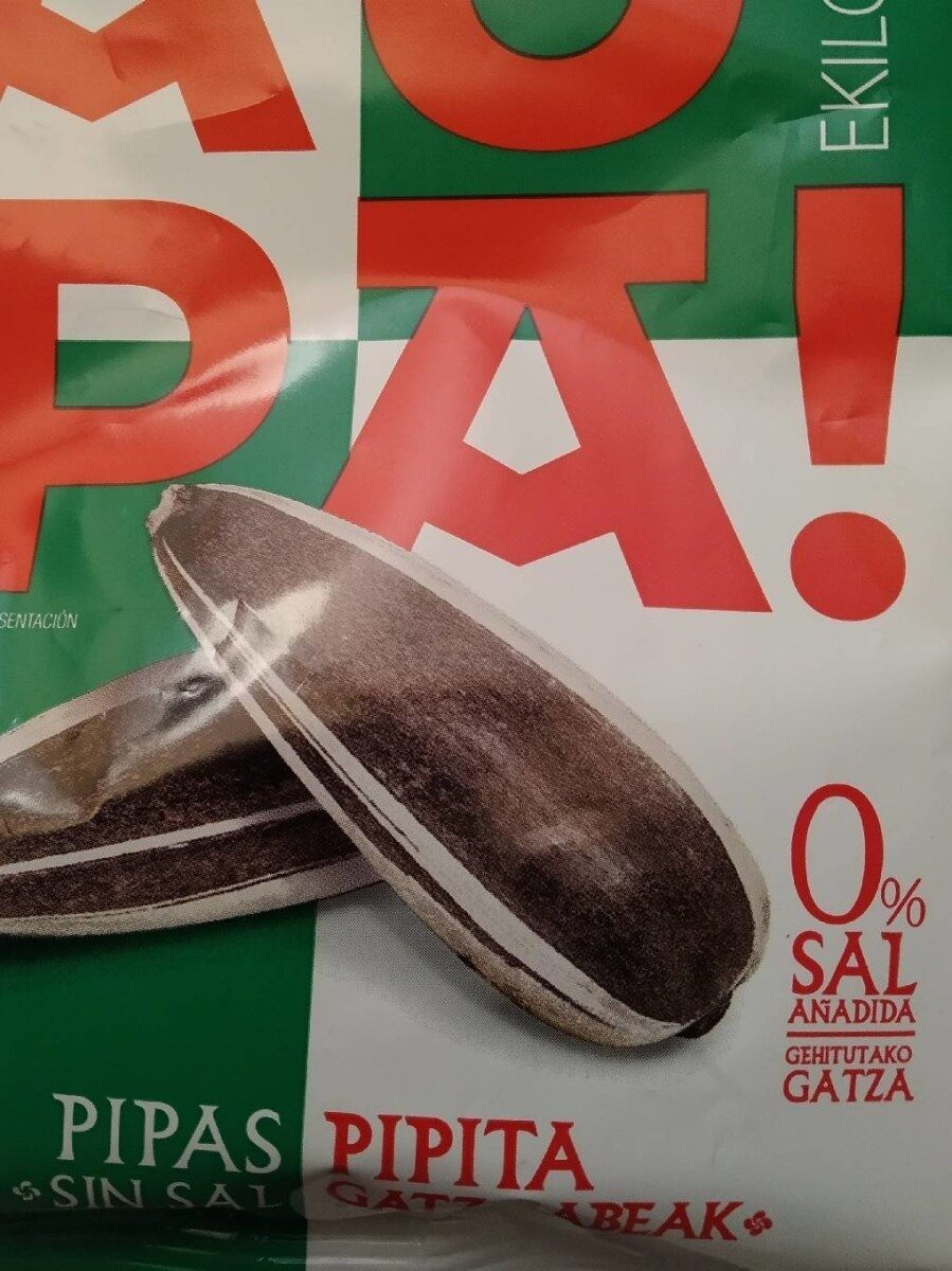 Pipas sin sal - Product