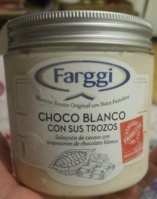 Choco blanco - Producto