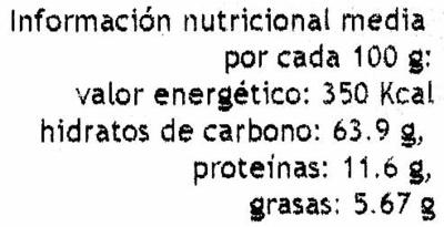 Quinoa - Informació nutricional